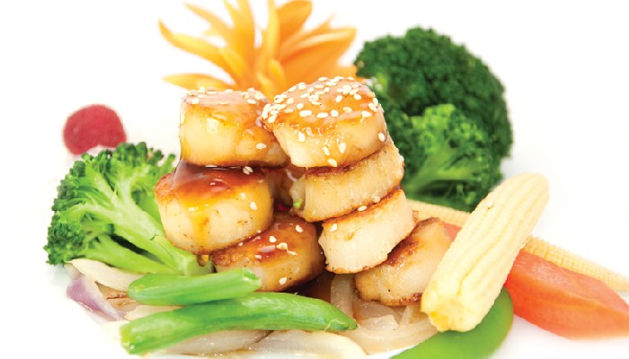 Scallop-Teriyaki